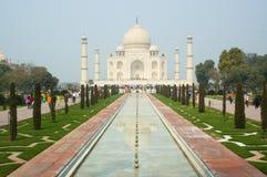mahal taj της Ινδίας agra στοκ εικόνες