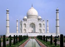 mahal taj της Ινδίας agra στοκ φωτογραφίες