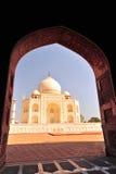 mahal taj της Ινδίας Στοκ Φωτογραφίες