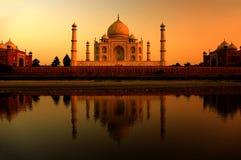 Mahal Taj Arkivfoton