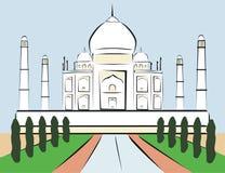 Mahal Taj Royaltyfri Bild