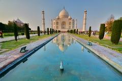 mahal taj Agra Uttar Pradesh india royaltyfri fotografi