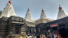 Mahalakshmi Tempel, Kolhapur u. x28; Mandir& x29 Shree Ambabai; lizenzfreie stockfotos