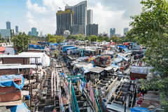 Mahalaxmi Dhobi Ghat (Outdoor Laundry), Mumbai Stock Photography