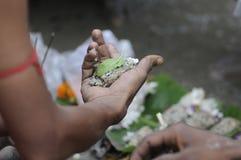 Mahalaya in Calcutta. Immagine Stock Libera da Diritti