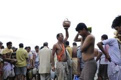 Mahalaya en Kolkata. foto de archivo libre de regalías