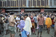 Mahalaya in Kolkata. Royalty Free Stock Photography