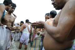 Mahalaya in Kolkata. Stock Photos