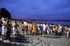 Mahalaya w Kolkata. zdjęcie stock