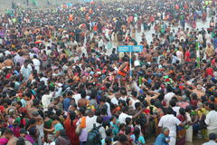 Mahamaham festival kumbakonam tamilnadu india Stock Photo