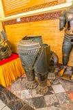 Mahamuni bronze statues Stock Photo