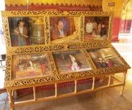 Mahamuni Buddha Świątynny Mandalay, Myanmar Fotografia Royalty Free