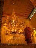 Mahamuni Buddha Lizenzfreie Stockfotografie
