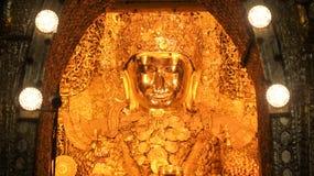 Mahamuni Buddha Royaltyfri Fotografi