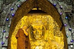 Mahamuni Buddha Stock Photos