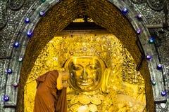 Mahamuni Buddha Stock Image