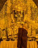Mahamuni Buddha in Mandalay, Myanmar Royalty Free Stock Photos