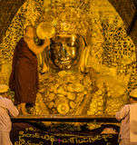 Mahamuni Buddha in Mandalay, Myanmar Royalty Free Stock Image