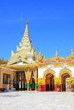 Mahamuni Buddha Temple, Mandalay, Myanmar Stock Images