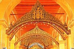 Mahamuni Buddha Temple, Mandalay, Myanmar stock photo