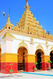 Mahamuni Buddha Temple, Mandalay, Myanmar royalty free stock photo