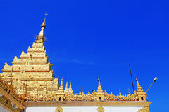 Mahamuni Buddha Temple, Mandalay, Myanmar Royalty Free Stock Photography