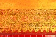 Mahamuni Buddha Temple Painting, Mandalay, Myanmar. The Mahamuni Buddha Temple is a Buddhist temple and major pilgrimage site, located southwest of Mandalay Royalty Free Stock Photography