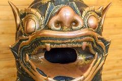 Mahamuni Khmer brązu statuy Zdjęcia Stock