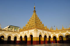 Mahamuni pagoda, Mandalay Zdjęcia Stock