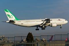 Mahan Air-Luchtbus A300 stock afbeeldingen