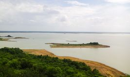 Mahanadi rzeka Obraz Royalty Free