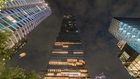 Mahanakhon est le nouveau plus haut bâtiment à Bangkok, Thaïlande Juillet 2018 banque de vidéos