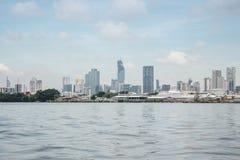 Mahanakorn som bygger Bangkok Arkivbilder