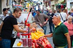 Mahane Yehuda Fotografering för Bildbyråer