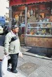 Mahane Yehuda Market i Jerusalem Israel Royaltyfria Foton
