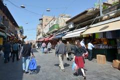 Mahane Yehuda Market in Jerusalem - Israel Stock Images