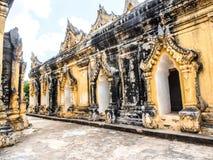 Mahar Aung Mye Bon San monastery, the ancient monastery in Inwa, Mandalay, Myanmar 10 Royalty Free Stock Image