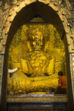 Mahar Myat Muni Boedha - Mandalay - Myanmar royalty-vrije stock foto's