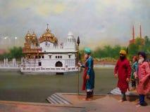 Maharadja Ranjit Singh Panorama Royalty-vrije Stock Afbeelding