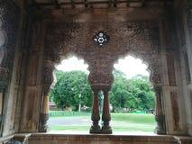 Maharadschapalast in Indien Stockbild