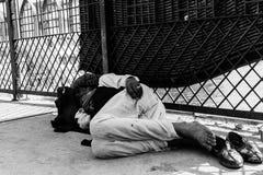 Maharajá en las calles imagen de archivo