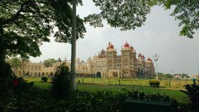 Maharaj3a Palace de Mysore fotos de archivo