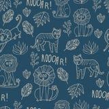 Maharaja Garden seamless  pattern. Stock Photography
