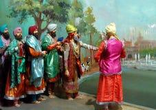 Maharaja Ranjit Singh Panorama Royalty Free Stock Images