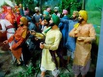 Maharaja Ranjit Singh Panorama Stock Photos