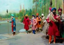 Maharaja Ranjit Singh Panorama Royalty Free Stock Image