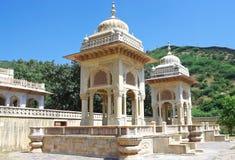 Maharaja Sawai Mansingh II, muzeum (Wodny pałac) Jaipur, Rajasthan, India Fotografia Royalty Free