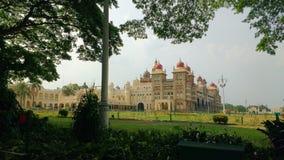 Maharajah Palácio de Mysore fotos de stock