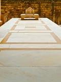 Maharajah Marble Throne. Maharajah's marble throne in Mehrangarh fort, Jodhpur, Rajasthan, India Royalty Free Stock Image