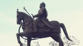 Maharana Pratap Statue royalty free stock photography